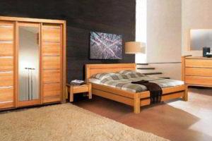 спальня из дерева фото 26