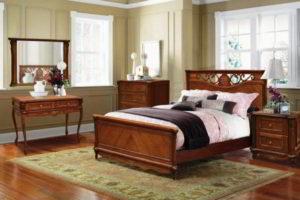 спальня из дерева фото 27