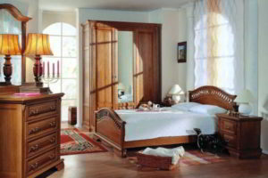 спальня из дерева фото 29