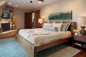 деревянные спальни фото 3