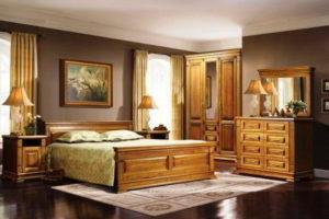 спальня из дерева фото 31