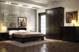 спальня из дерева фото 35