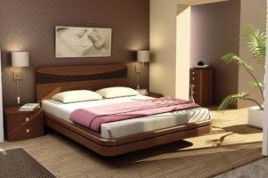 спальня из дерева фото 41