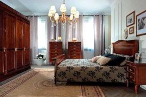 спальня из дерева фото 48