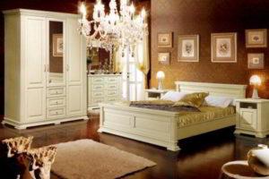 спальня из дерева фото 49