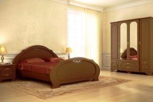 спальня из дерева фото 52
