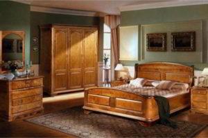 спальня из дерева фото 56