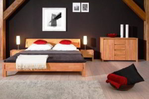 спальня из дерева фото 59