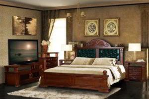 спальня из дерева фото 61