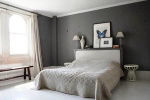 серая спальня фото 13