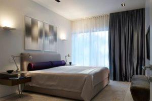 серая спальня фото 15