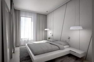 серая спальня фото 27