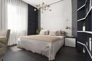 серая спальня фото 28
