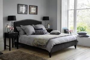 серая спальня фото 29