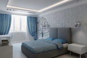 серая спальня фото 35