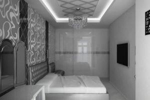серая спальня фото 37