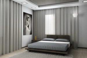 серая спальня фото 43