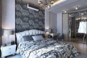 серая спальня фото 48
