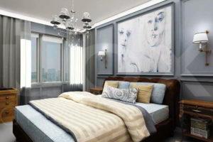 серая спальня фото 56