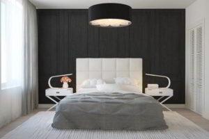 серая спальня фото 9