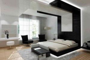 современная спальня фото 22