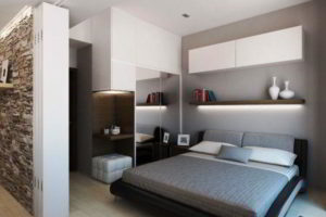 современная спальня фото 30
