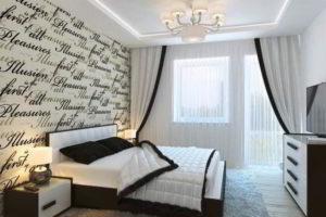 современная спальня фото 33
