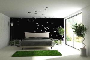 современная спальня фото 36