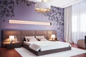 современная спальня фото 38