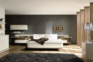 современная спальня фото 40