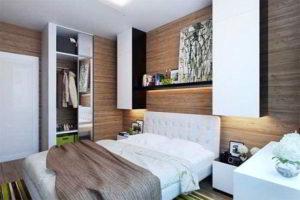 современная спальня фото 43