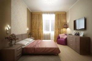современная спальня фото 48