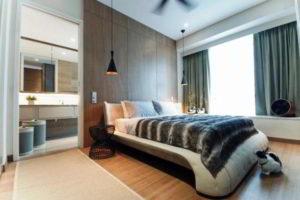 современная спальня фото 50
