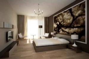 современная спальня фото 53