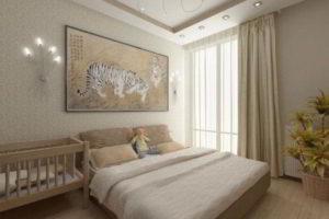 современная спальня фото 62