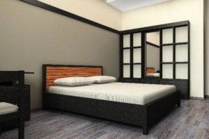 современная спальня фото 66