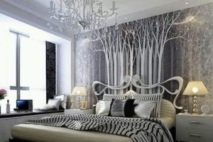 современная спальня фото 70