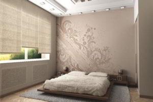 современная спальня фото 74