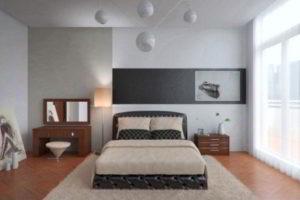 современная спальня фото 75
