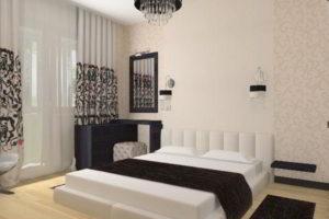 современная спальня фото 76