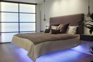 современная спальня фото 77