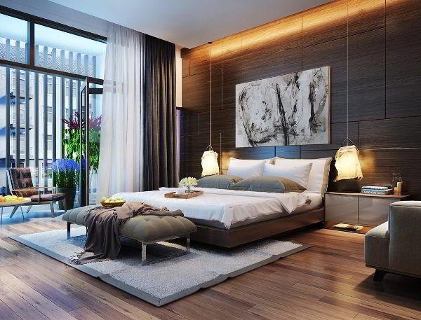 спальня в современном стиле дизайн фото 16