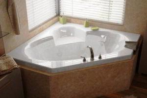 угловая ванна фото 15