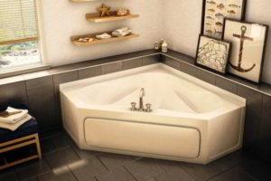 угловая ванна фото