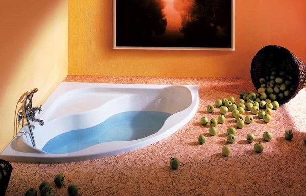 угловая ванная фото 10