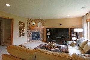 угловые камины в интерьере гостиной фото 27