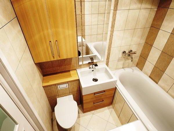 ванная в хрущевке фото 9