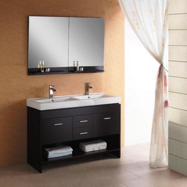 зеркальный шкаф для ванной фото 8