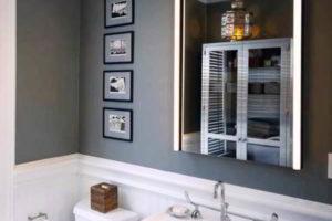 зеркало в ванную комнату с подсветкой фото 10