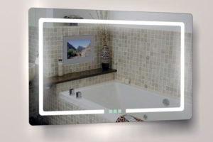 зеркало в ванную комнату с подсветкой фото 19